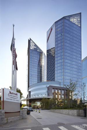 北京市科航大厦双层电动遮阳帘
